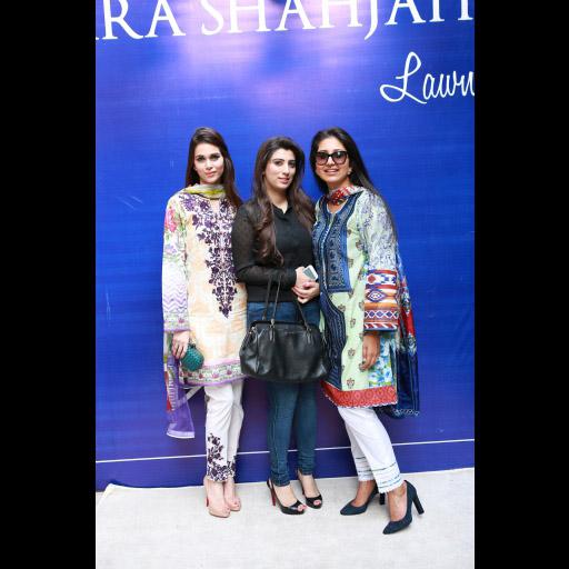 Jania Bhatti, Maria Asif Baig and Zara Shahjahan