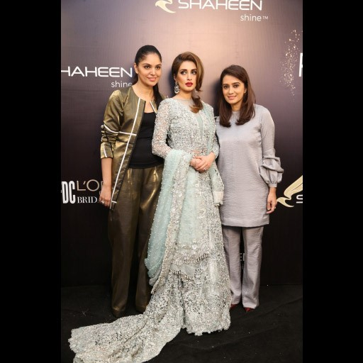 Saira, Iman Ali and Shakira Usman