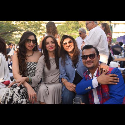 Aamna, Sarwat, Ronak Lakhani and Adeel