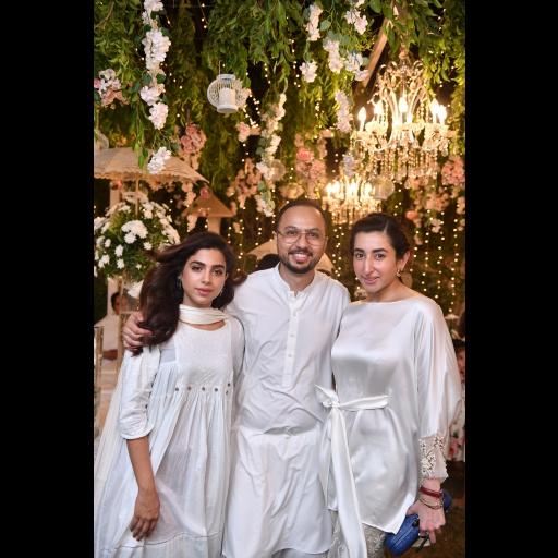 Sonya Khan, Nomi Ansari and Aamna Aqueel