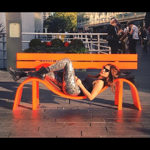 London calling! Ayesha Omar dons a street savvy look while lounging in London!