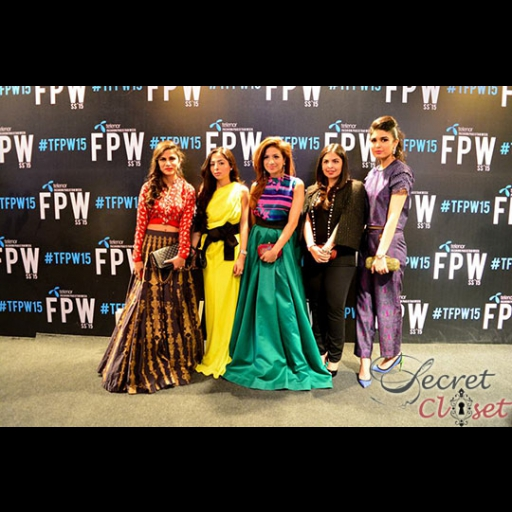 Natasia Khalid in Nida Azwer, Saher Paracha and Soha Sheikh in Sana Safinaz, Anusha Bawany, and Shazah Ayub in Umaima Mustafa
