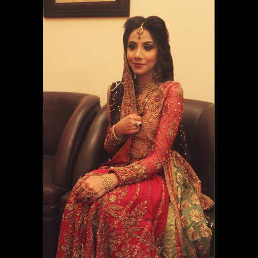 Anam Ahmed in a Tena Durrani Bridal