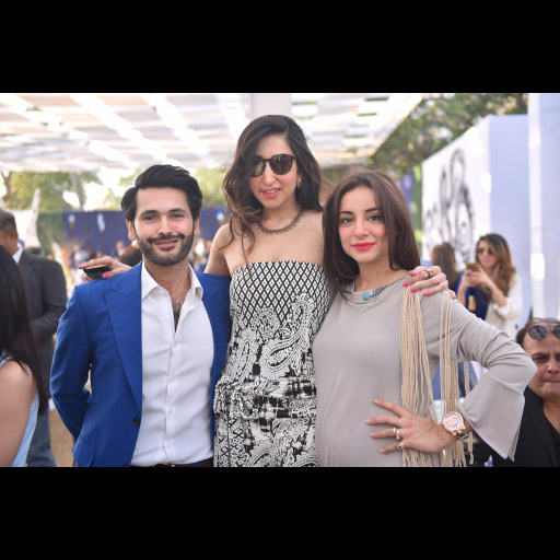 Fahad, Aamna and Sarwat