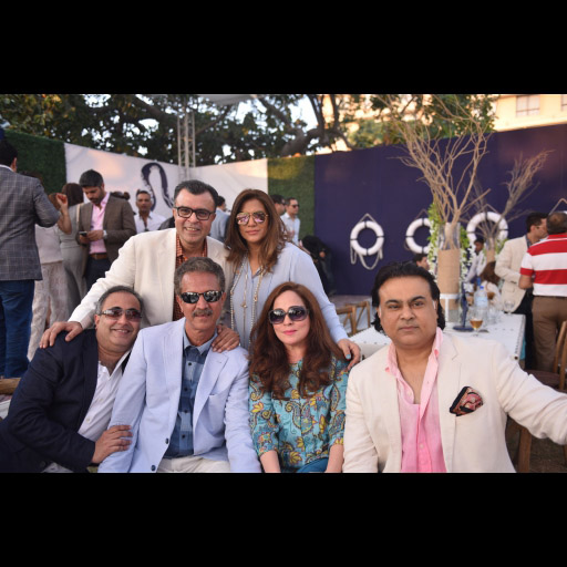 Mayor Wasim Akther with friends