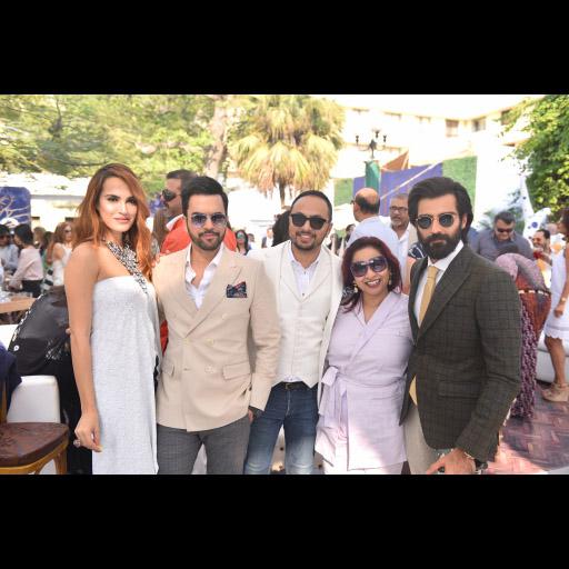 Nadia, Junaid, Nomi, Samra and Husnain