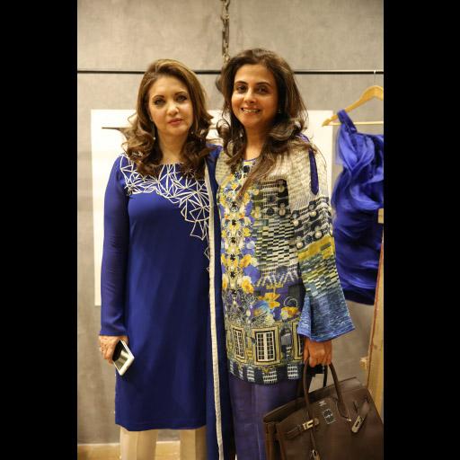Sadaf Kamal and Sayeeda Leghari