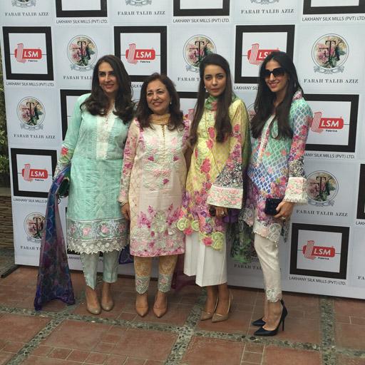 Aamna Taseer, Farah Talib Aziz, Maliha Aziz, Shehrbano Taseer