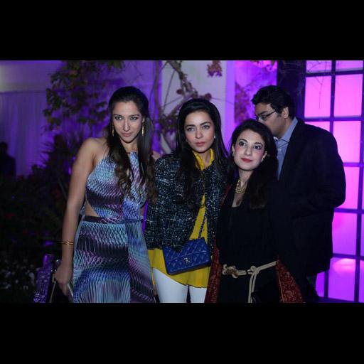Kiran Ikram, Maliha Aziz and Zahra Merchant