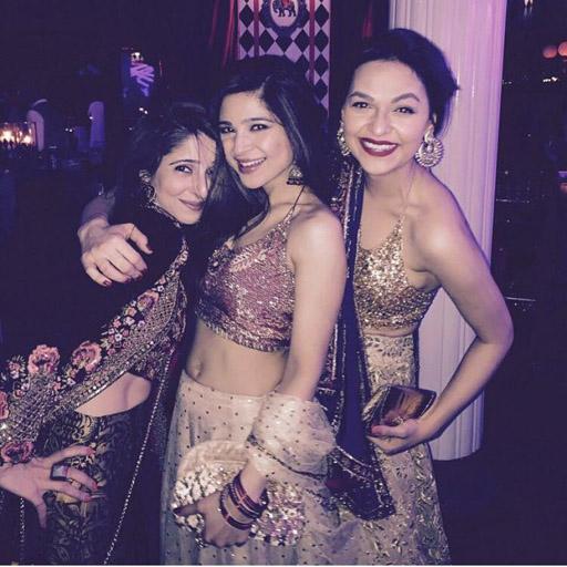 Tena Durrani, Ayesha Omar and Dure all in Tena Durrani designs