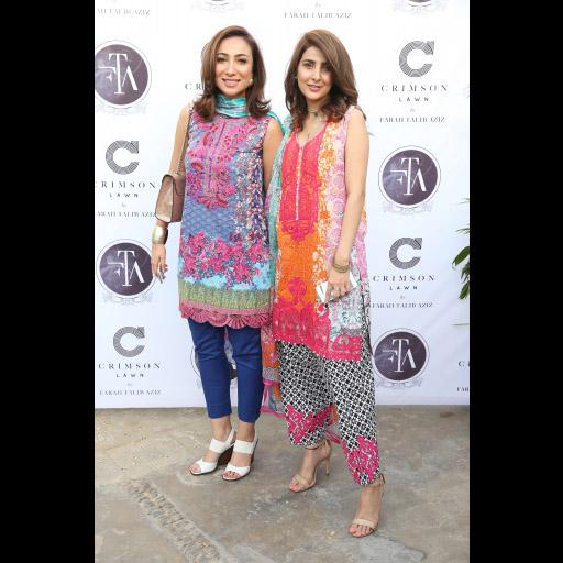 Anoushey Ashraf and Areeba Habib