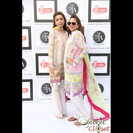 Maliha Aziz and Sonya Jamil