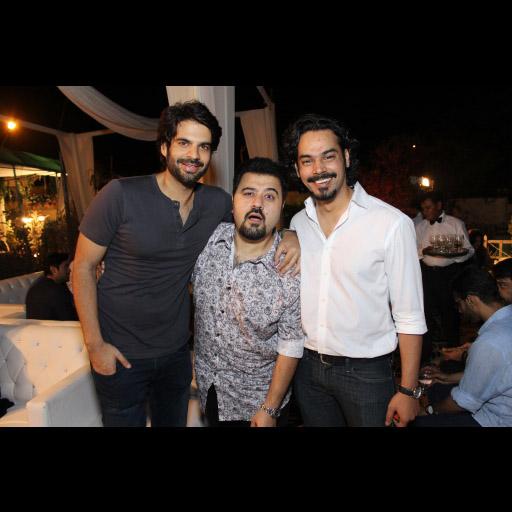 Adnan Malik, Ahmed Ali Butt and Gohar Rasheed