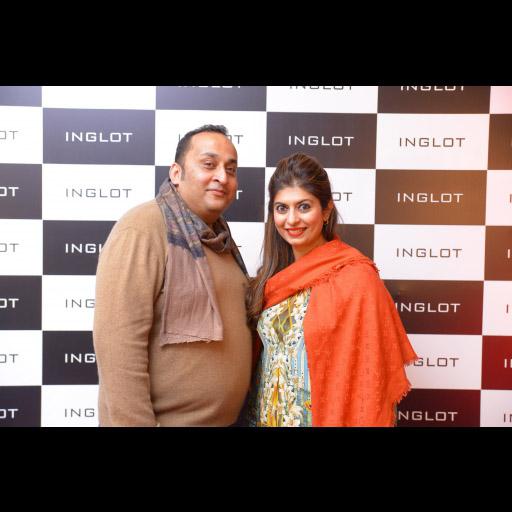 Aamir Mazhar and Natasha Adil