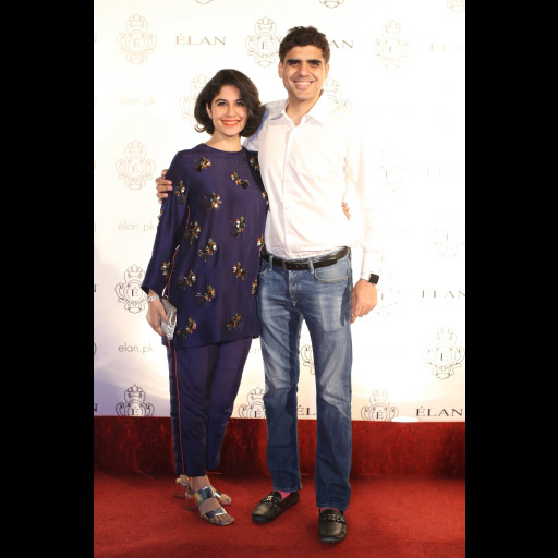 Mina Malik and Savail Hussain