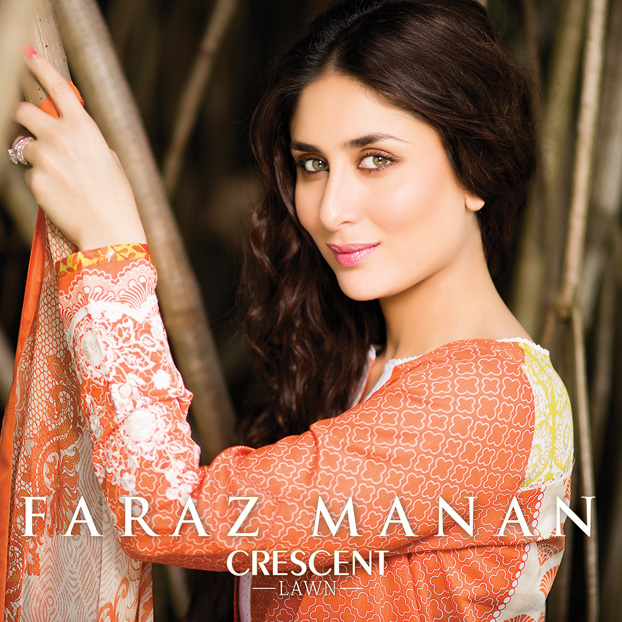 Faraz Manan's Crescent Lawn 2015 Launching World Wide on 2nd March 2015