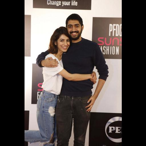 Hira Ali and Humza Zafar