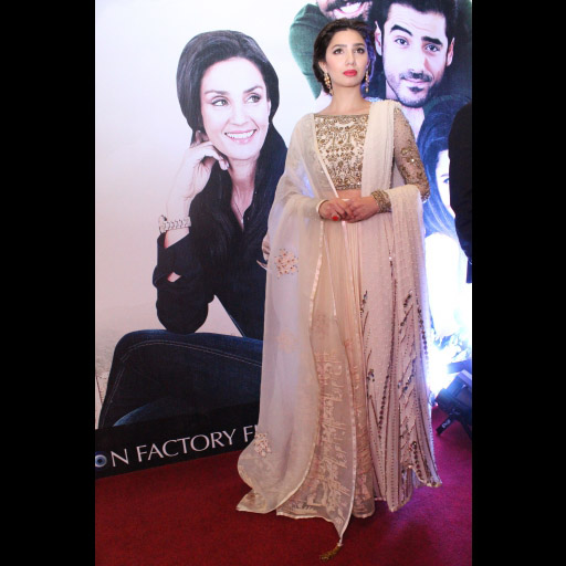 Mahira Khan in Feeha Jamshed and Aura Art Jewels