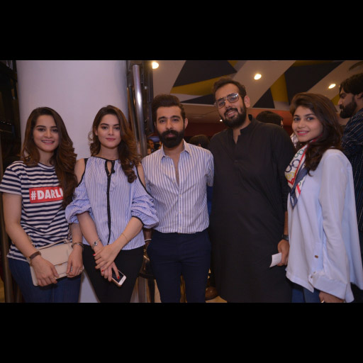 Aimen, Minal, Mr and Mrs Abdullah Seja with a friend
