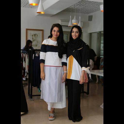 Mariam Tanveer and Ayesha