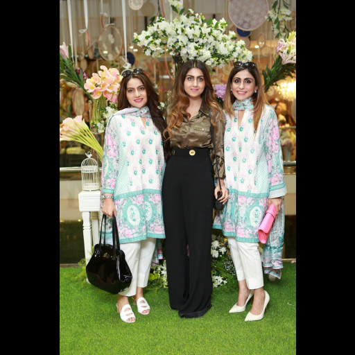 Nazia, Anush and Shazia Ammar