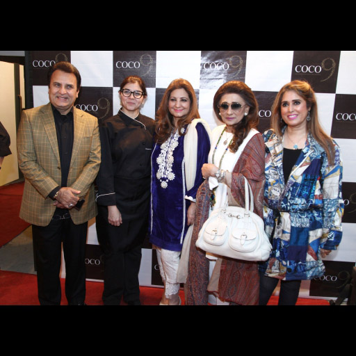 Mr. and Mrs Behroze Sabzwari, Pinky Perwani, naz