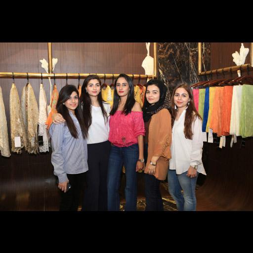 Mehak, Zara, Maida, Fatima and Zaina