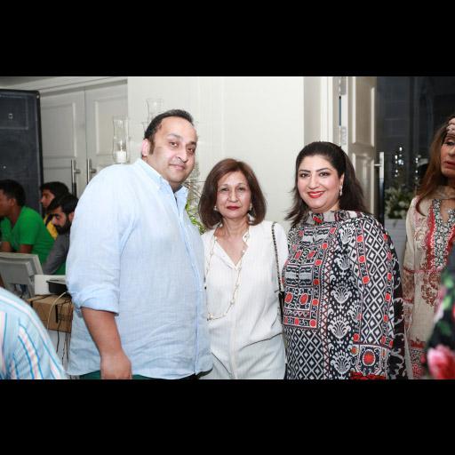 Aamir Mazhar, Naz Mansha and Rima Farid