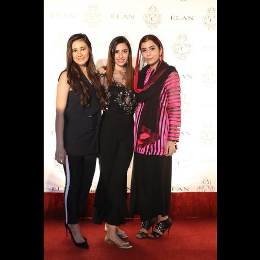Zainab, Hira and Minahil