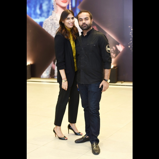 Zainab Malik and Faraz Manan