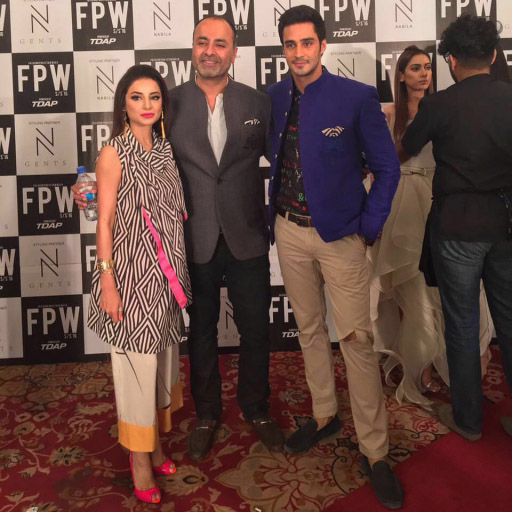 Sarwat Gilani With Deepak Parwani And Sikander Rizvi