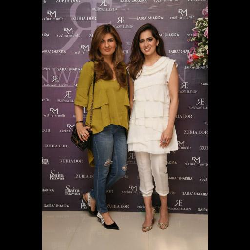 Ayesha Sohail, Somaya Adnan