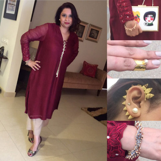 Samra Muslim in Menahel and Mehreen and Outhouse and REMA accessories