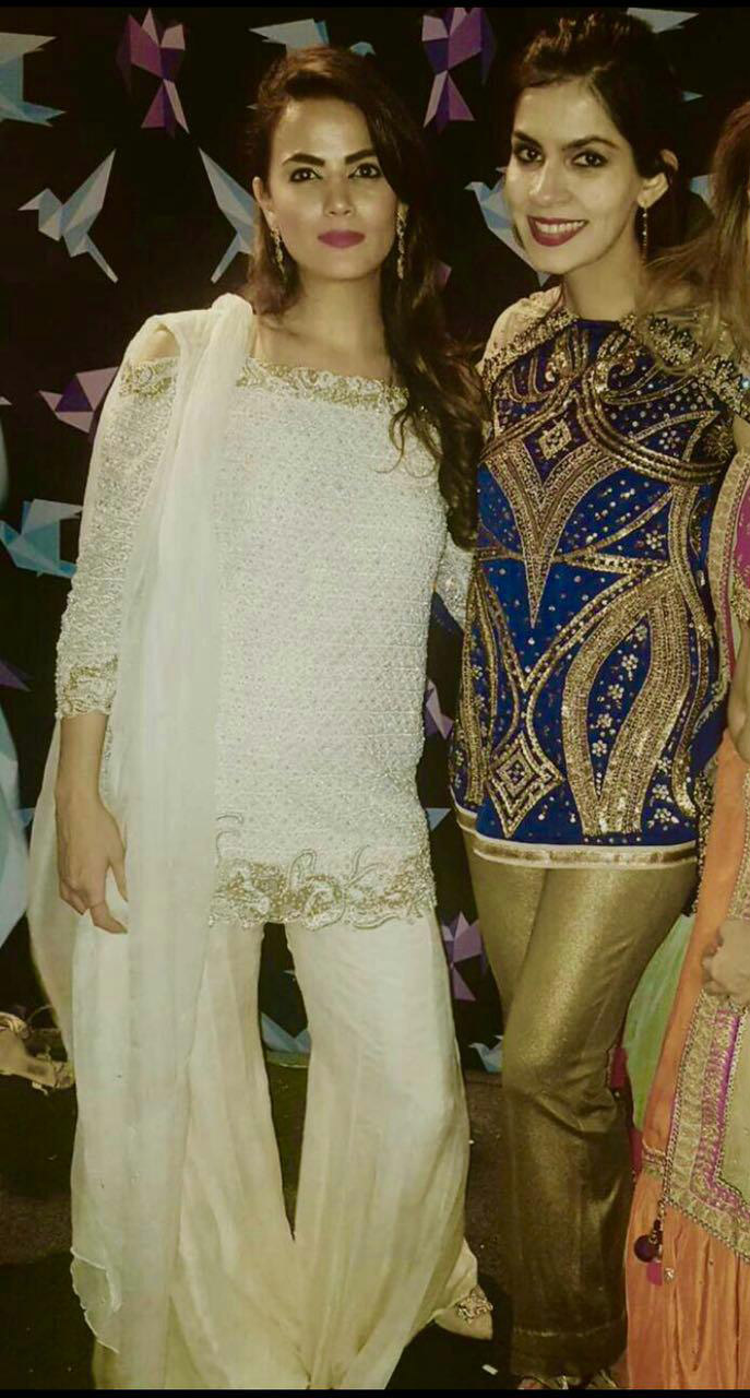 Sonia Durrani and Faryal Arif in Nadia Farooqui