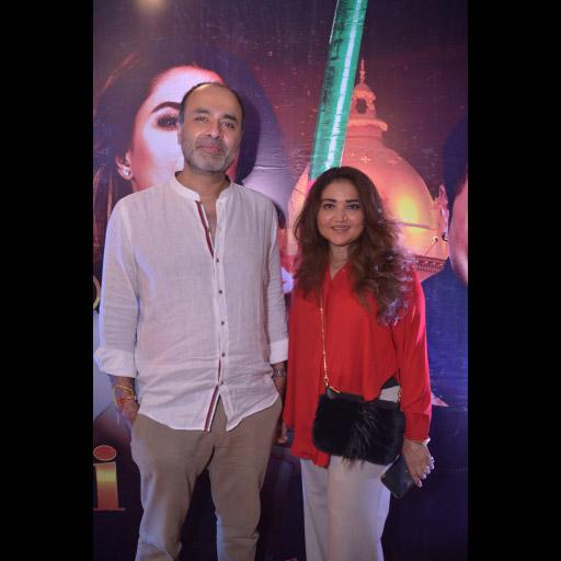Deepak Perwani and Huma Adnan