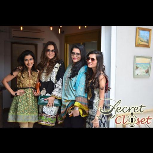 Sadaf Jalil, Safinaz Muneer, Seveen Muneer and Emaan Syed