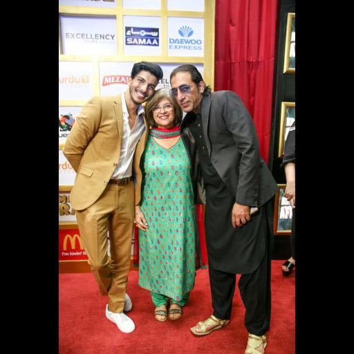 Mohsin with arina Khan and Tipu