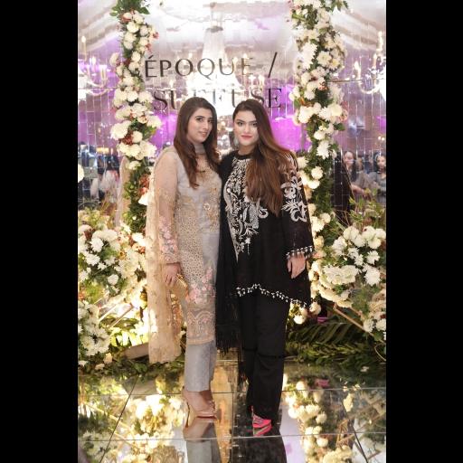 Maria Baig and Sana Yasir