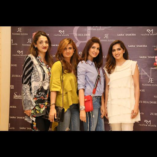 Farnaz, Ayesha, Amna, Somaya