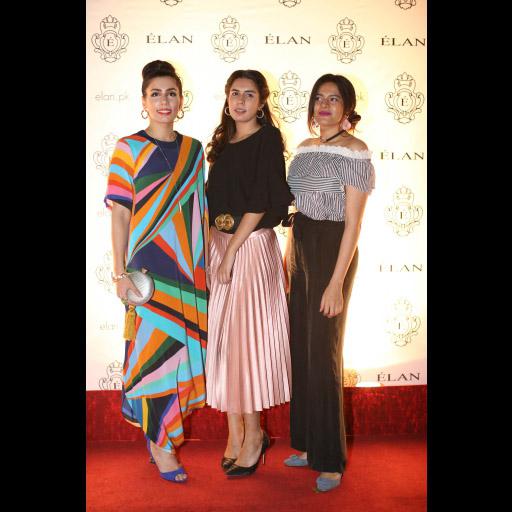 Mahnum Kabir, Natalia Kabir and Faarya Niaz