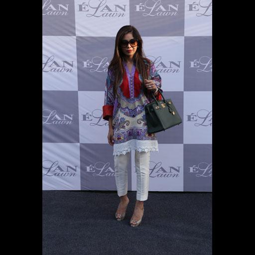 Samira Dada wearing Elan Lawn