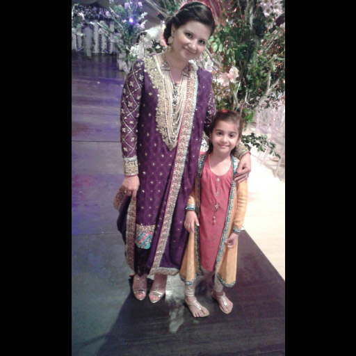 Zainab Raza in a traditional marori work formal