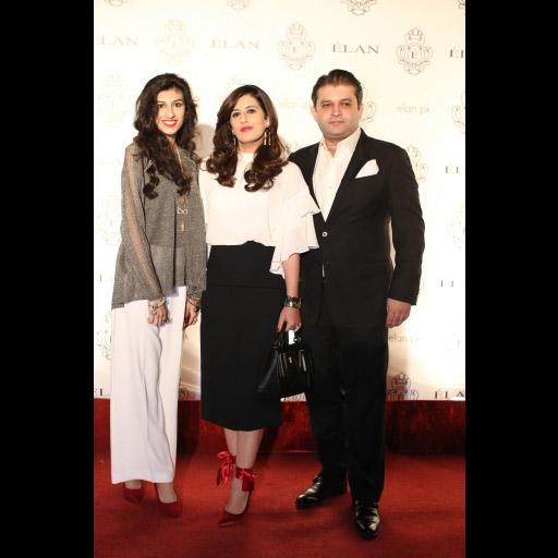 Zarish Humayun, Sara Sheikh and Ahmed Shaikh