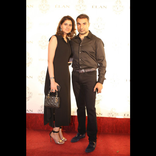 Mariam Saqib and Shaid Luqman