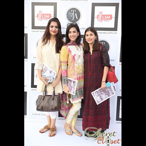 Anam Farooq, Sana Ansari, Nida Khan