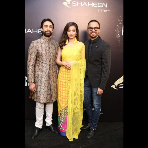 Ali Rehman, Sana Javed and Nomi Ansari