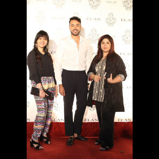 Mariam Tahir, Haider Maqsood and Aamna Haider Isani