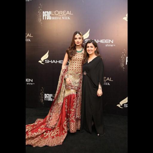 Alyzeh Gabol and Fatima Syed