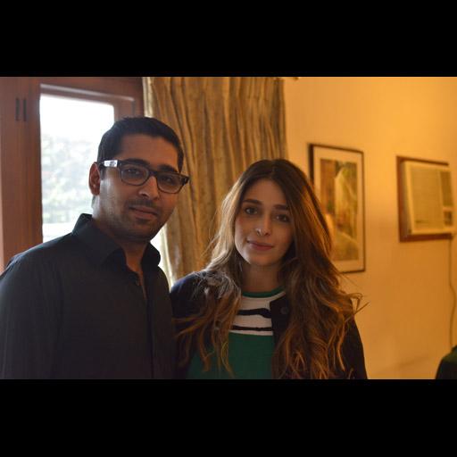 Bilal Barkat and Sasha Barkat