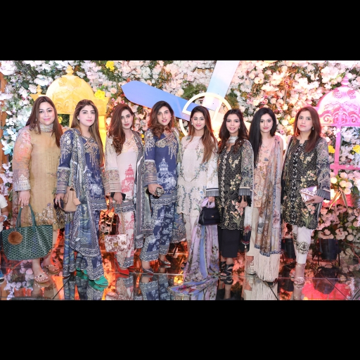 All the girls sporting Shiza Hassan Lawn